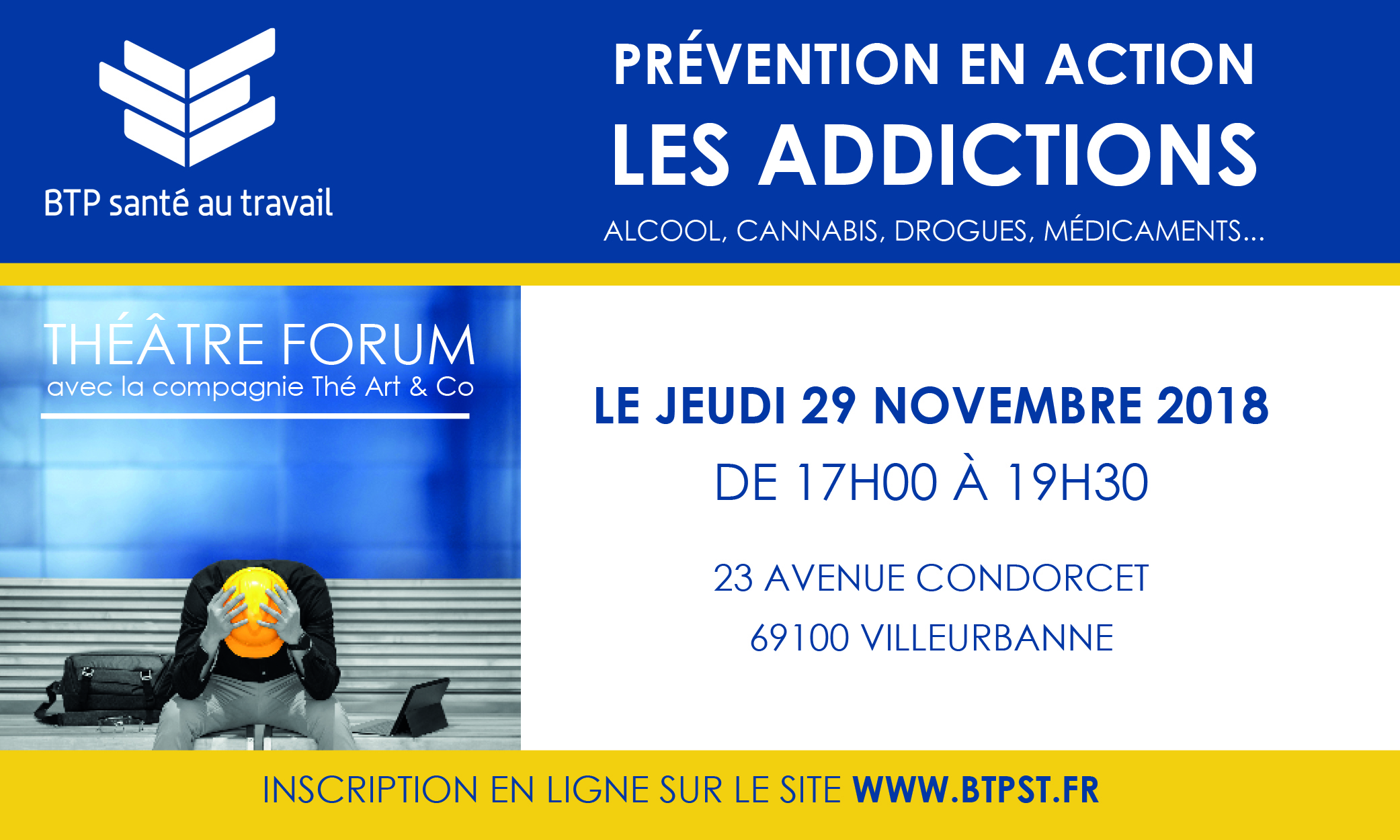 Annonce-web Thtre-Forum-Addictions
